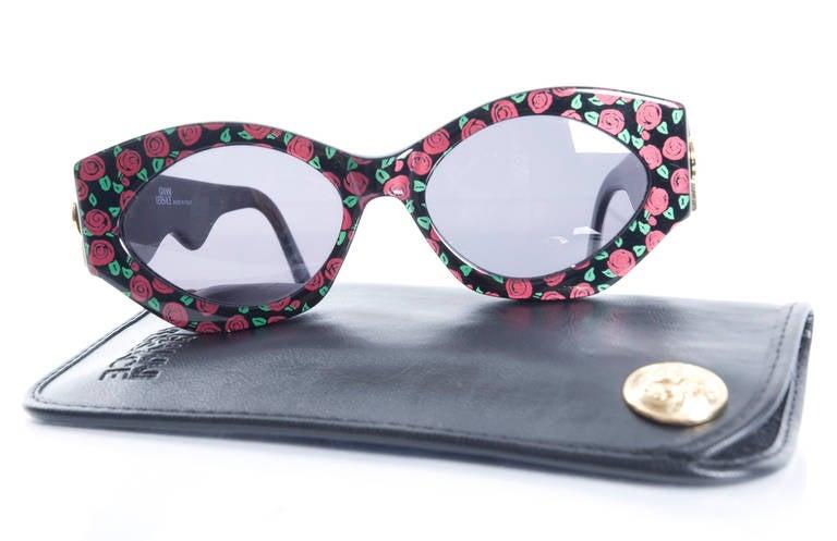 90's Gianni Versace Sunglasses at 1stdibs