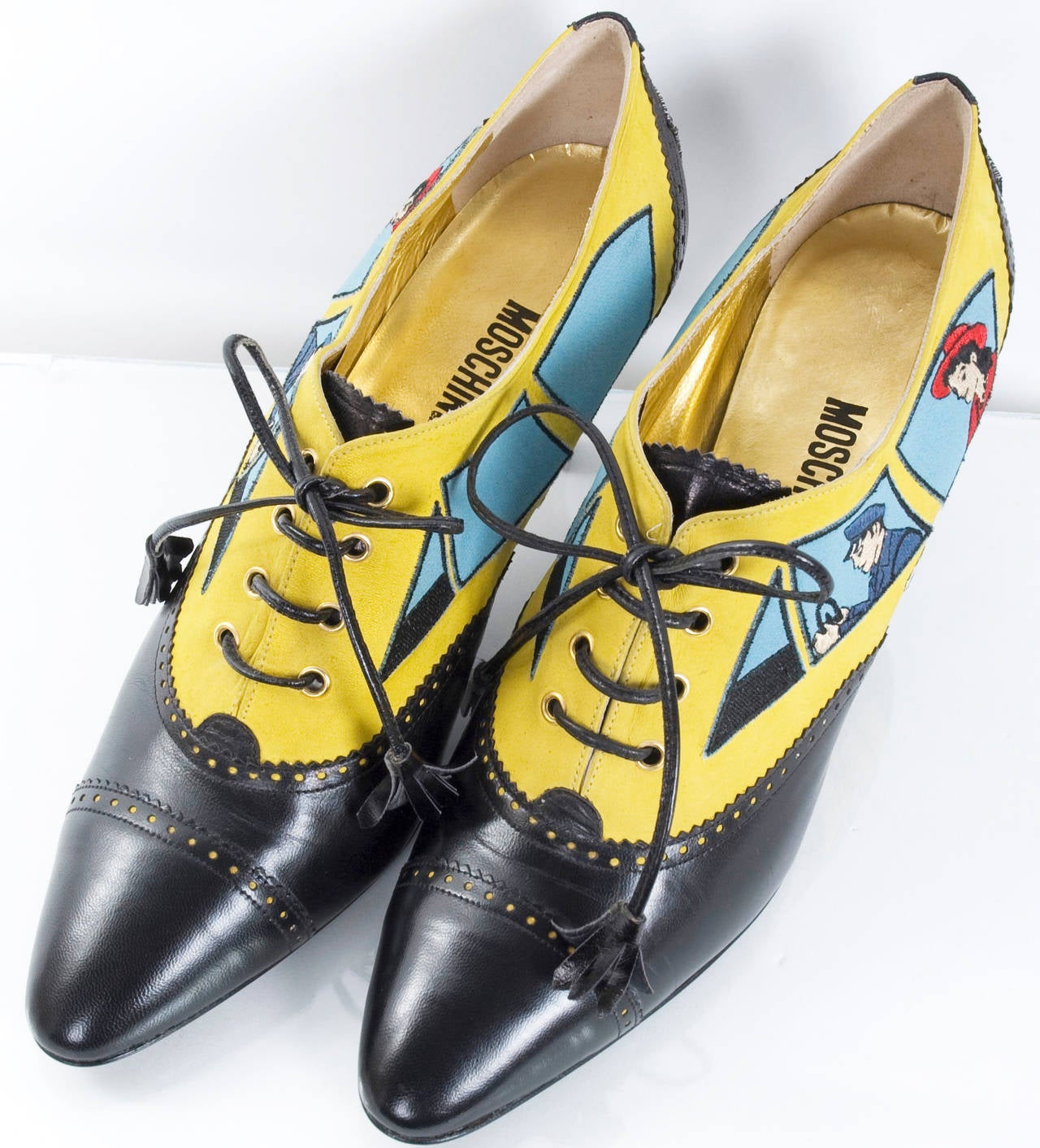 80's Moschino Car&Driver Shoe.