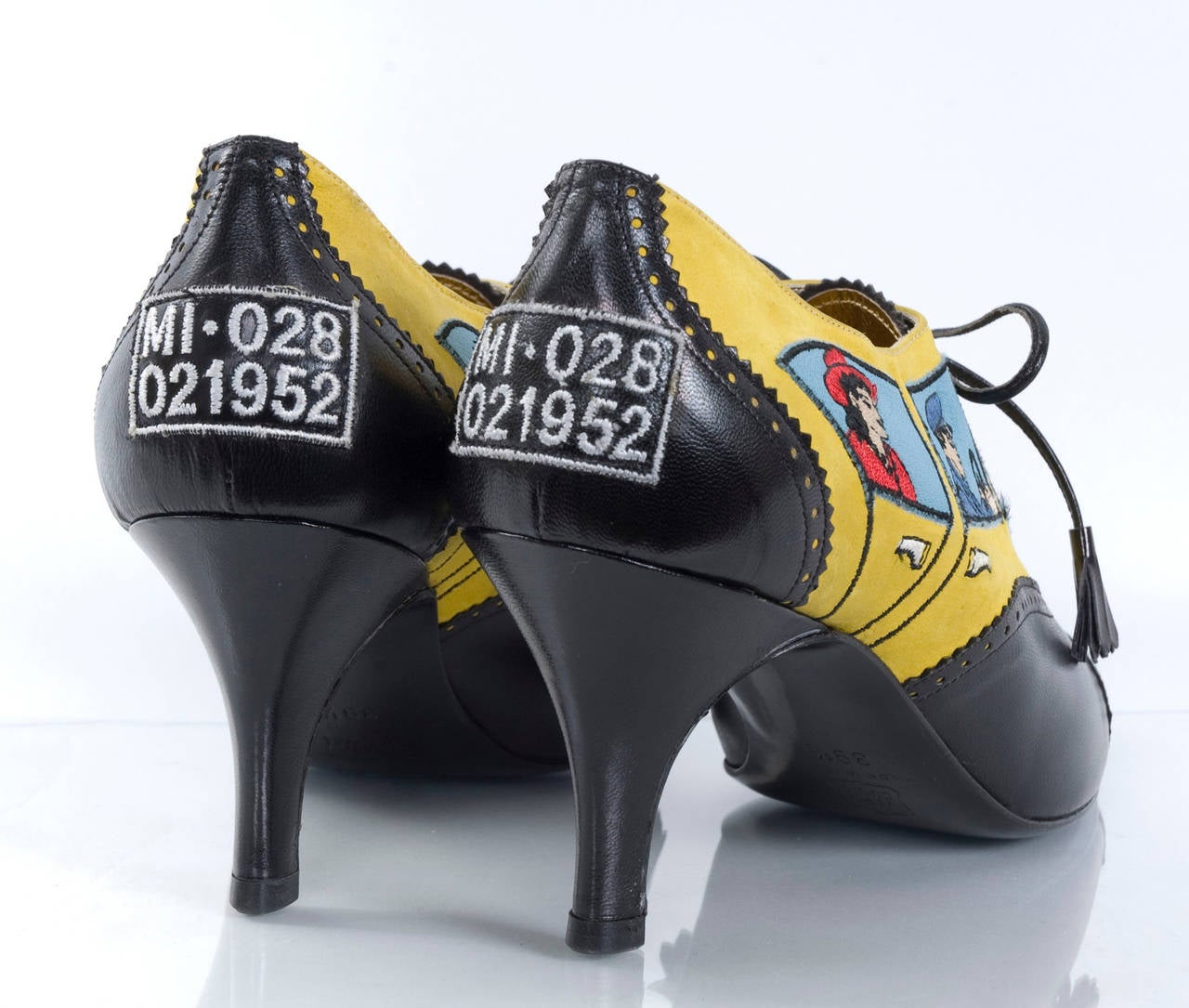 Women's 80's Moschino Car&Driver Shoe - unworn For Sale
