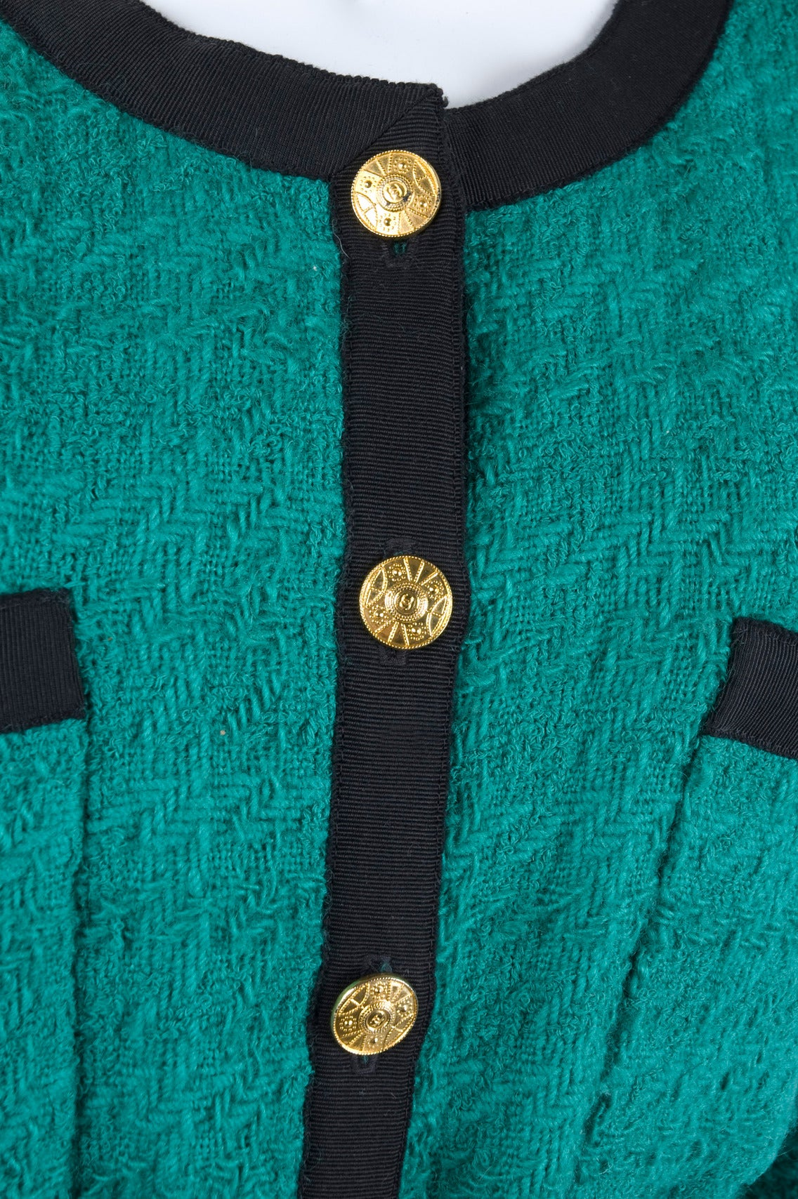 Chanel Jacket with Belt For Sale 1