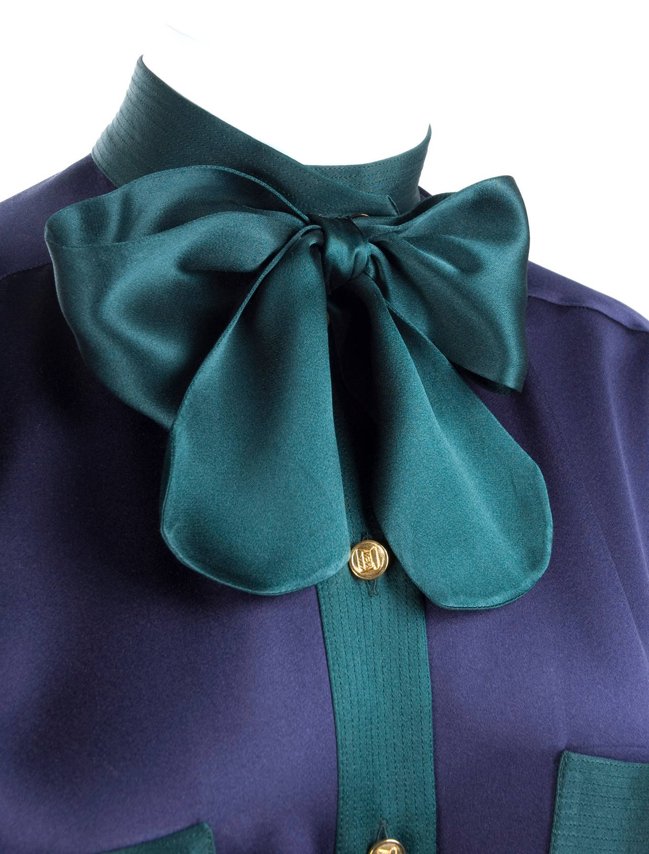 Chanel Silk Blouse 2