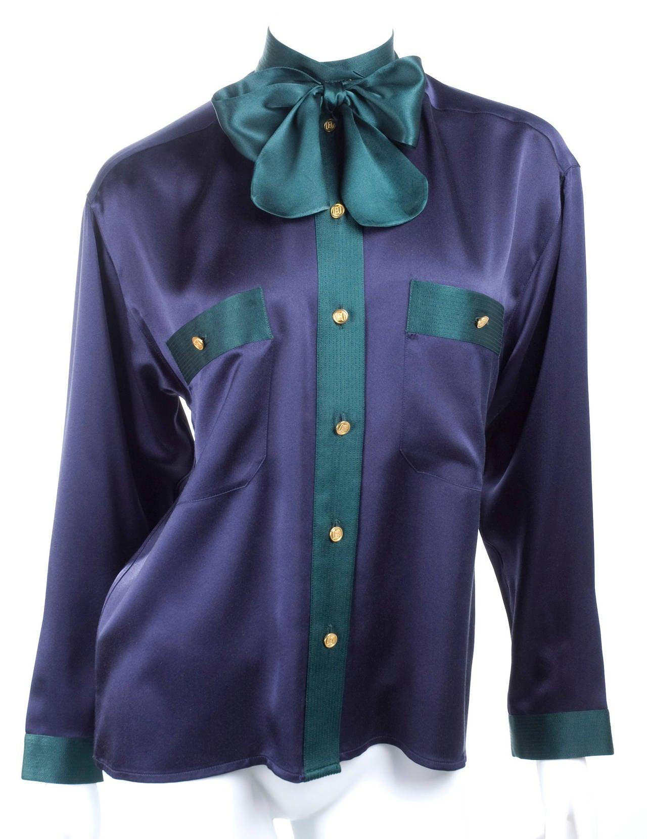 Chanel Silk Blouse 3