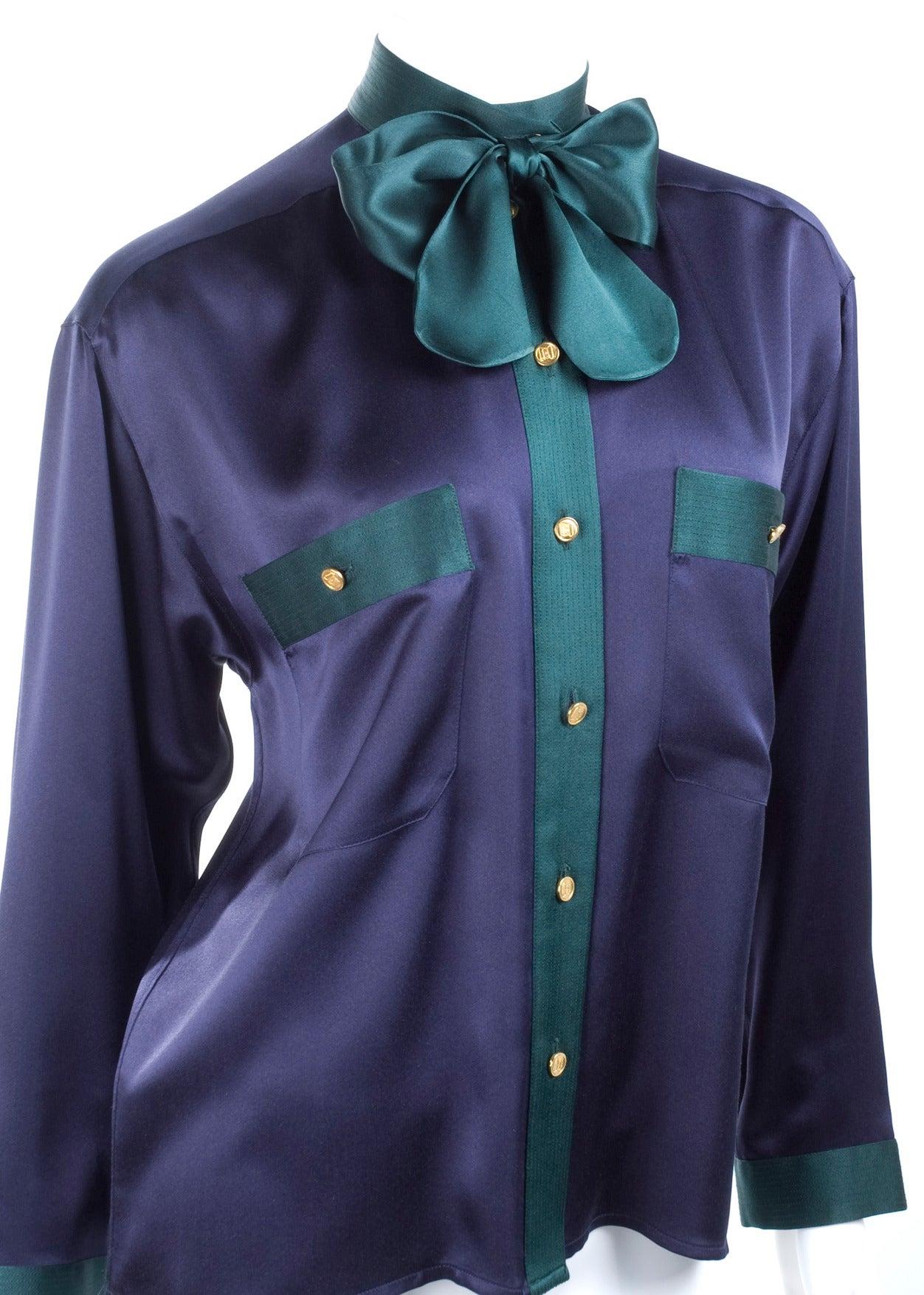 Chanel Silk Blouse 5