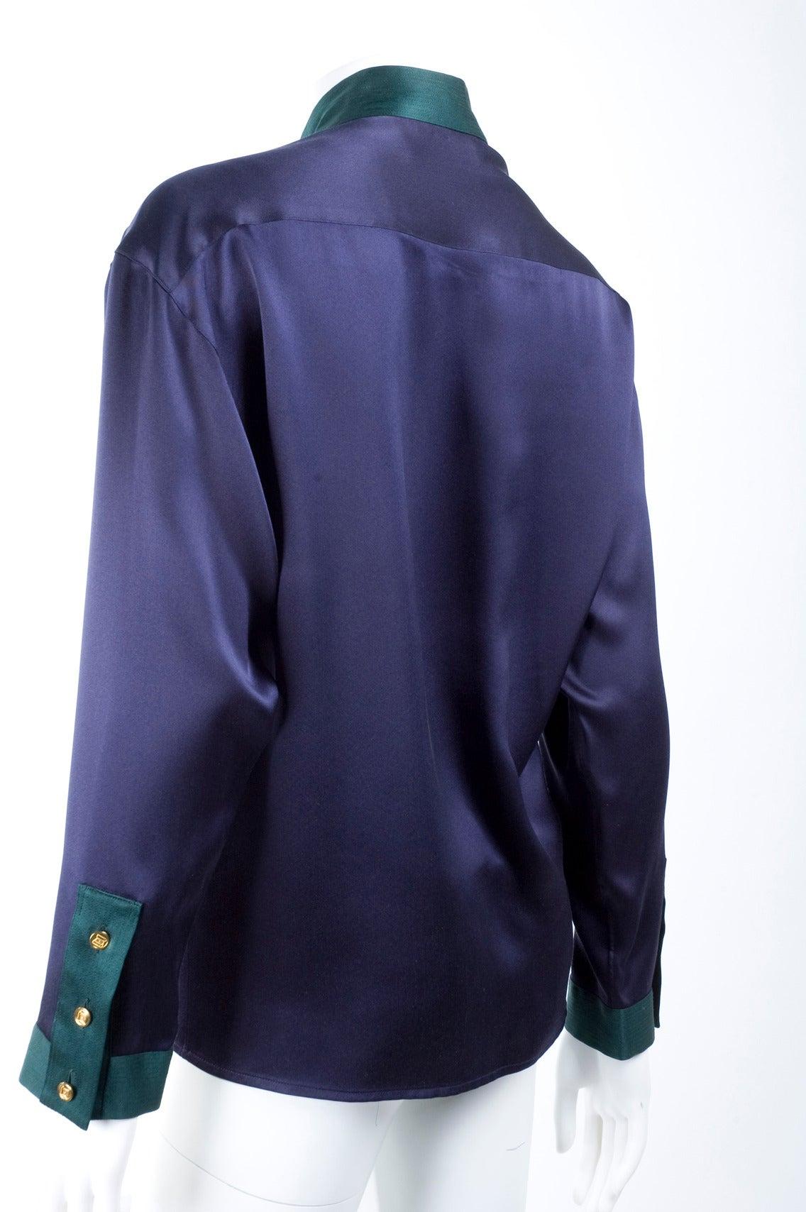 Chanel Silk Blouse 6