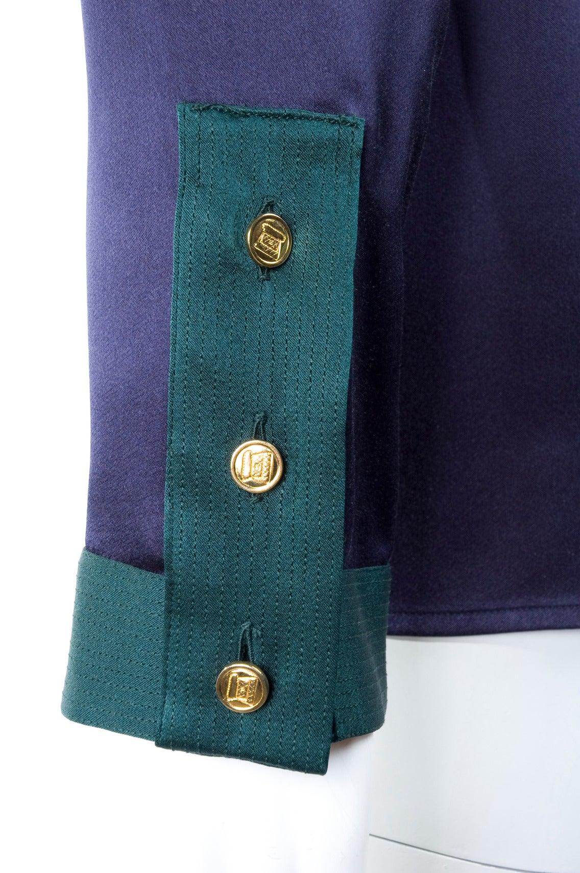 Chanel Silk Blouse 7