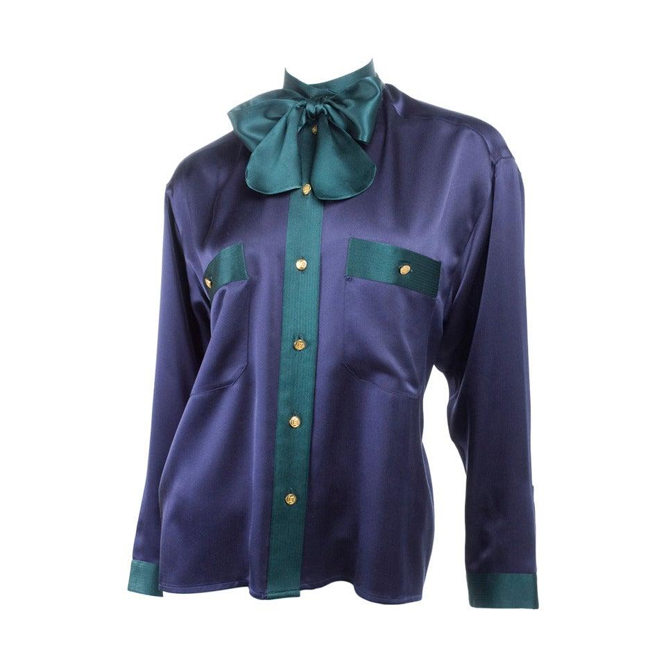 Chanel Silk Blouse 1
