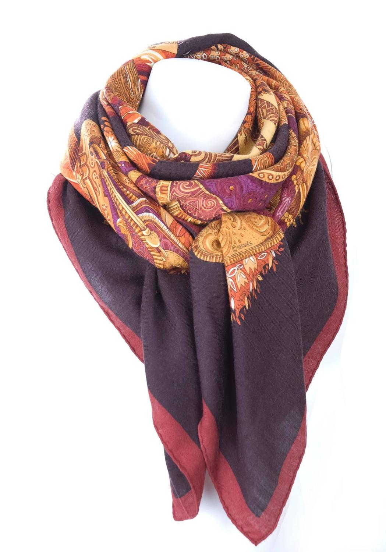 hermes silk scarf quot ombres et lumieres quot xl size