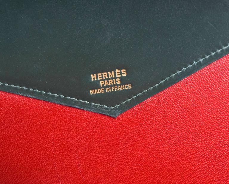 Vintage Rare Hermes Himalayan Moniker Purse from 1982 9