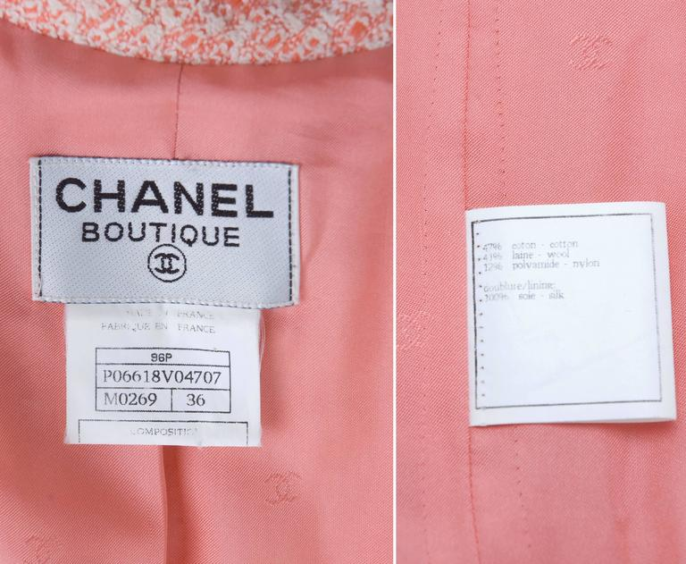 Vintage 1996 Chanel Dress with CC Logo Buttons. 8