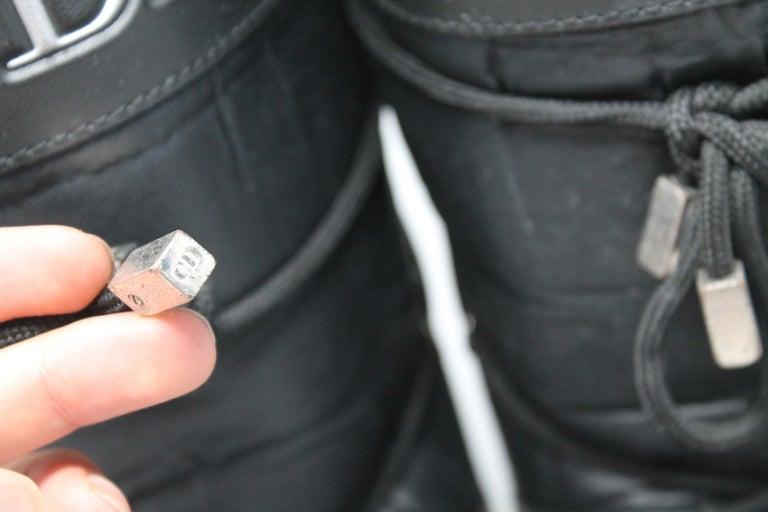 Dior Black Nylon Apres Ski Boots  For Sale 3