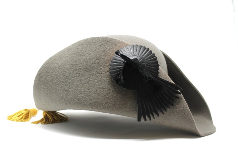 -Iconic hat from Vivienne Westwood, first seen on the