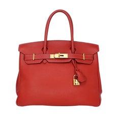 Hermes Birkin 30cm Red