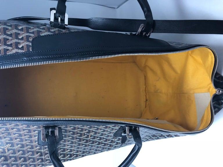 Goyard 55 Duffel Bag  For Sale 7