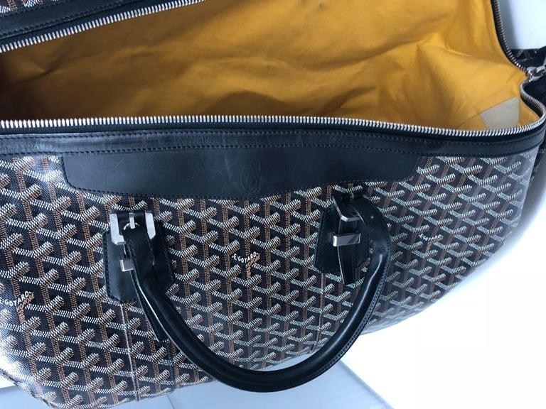 Goyard 55 Duffel Bag  For Sale 8