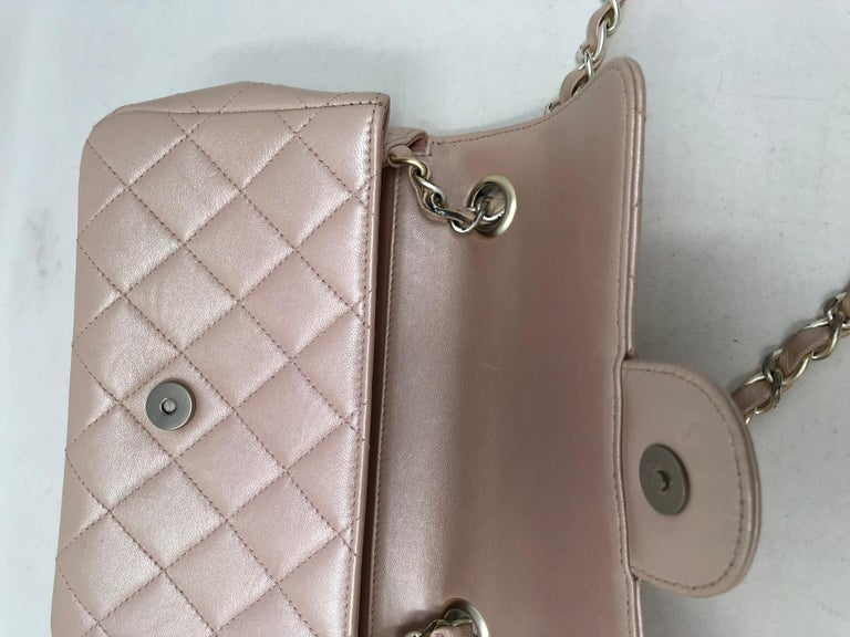 2673aa3937c779 Chanel Pink Crossbody Bag For Sale 2