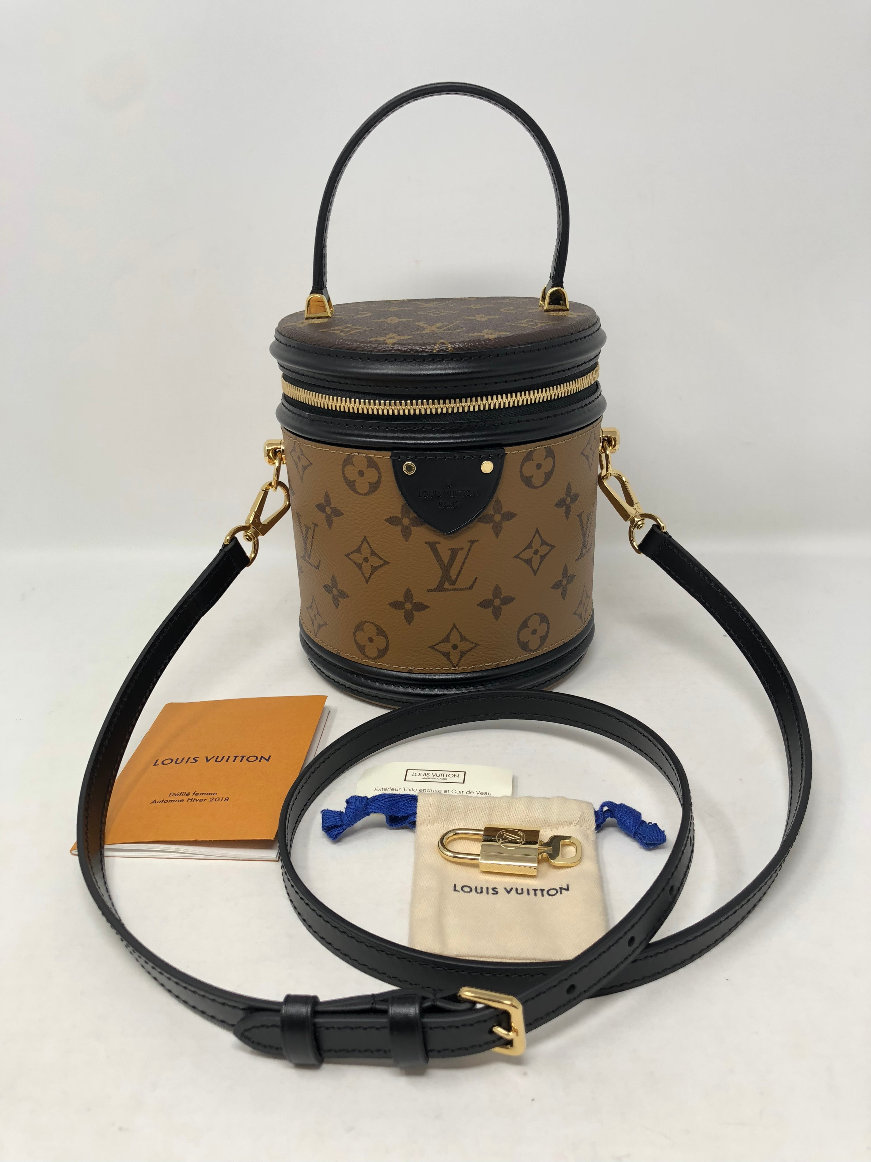 a7bb2a21370c Louis Vuitton Reverse Monogram Cannes Bag at 1stdibs