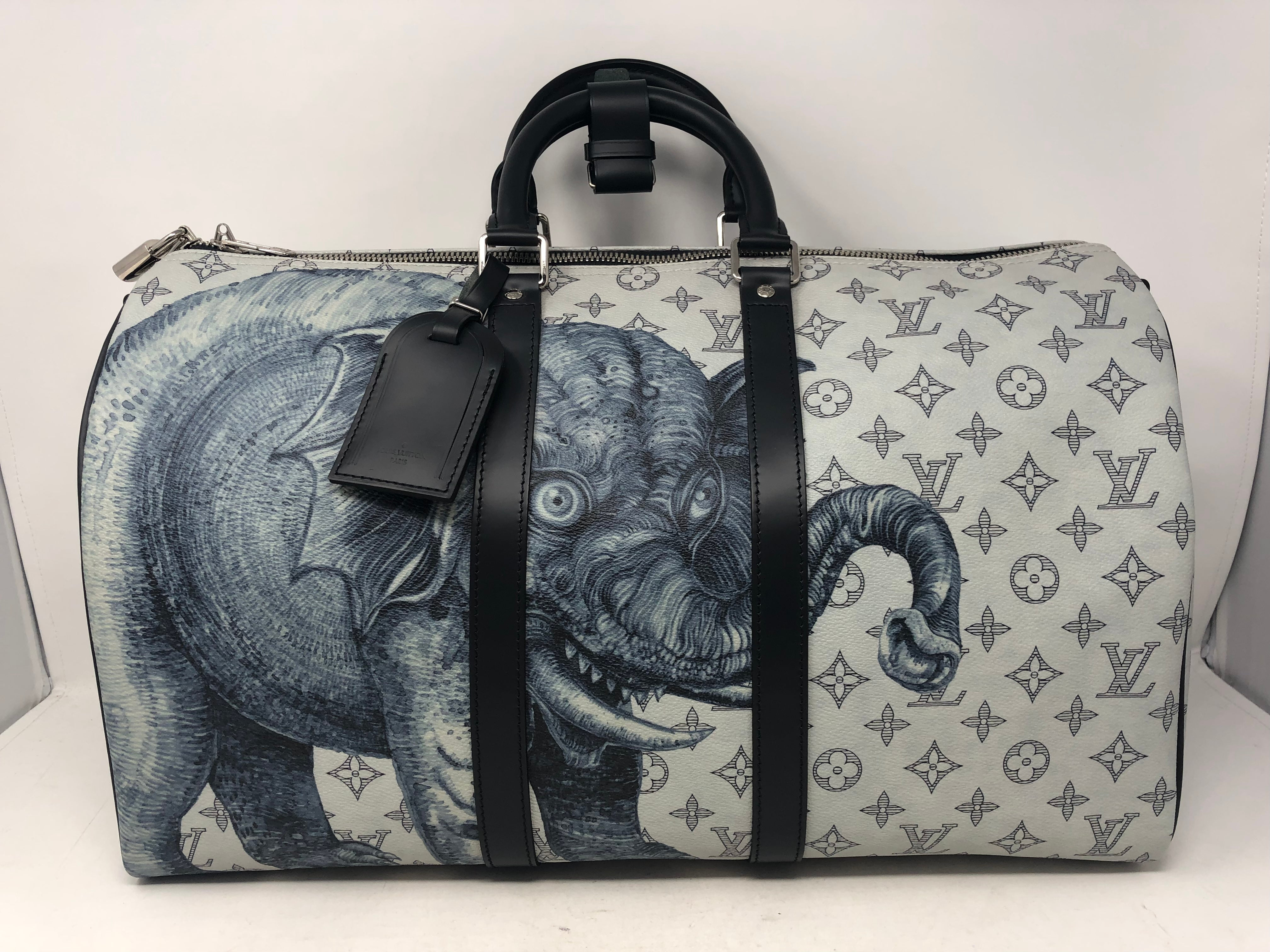 20f9485390ca Louis Vuitton Keepall Chapman Brothers Bandouliere For Sale at 1stdibs
