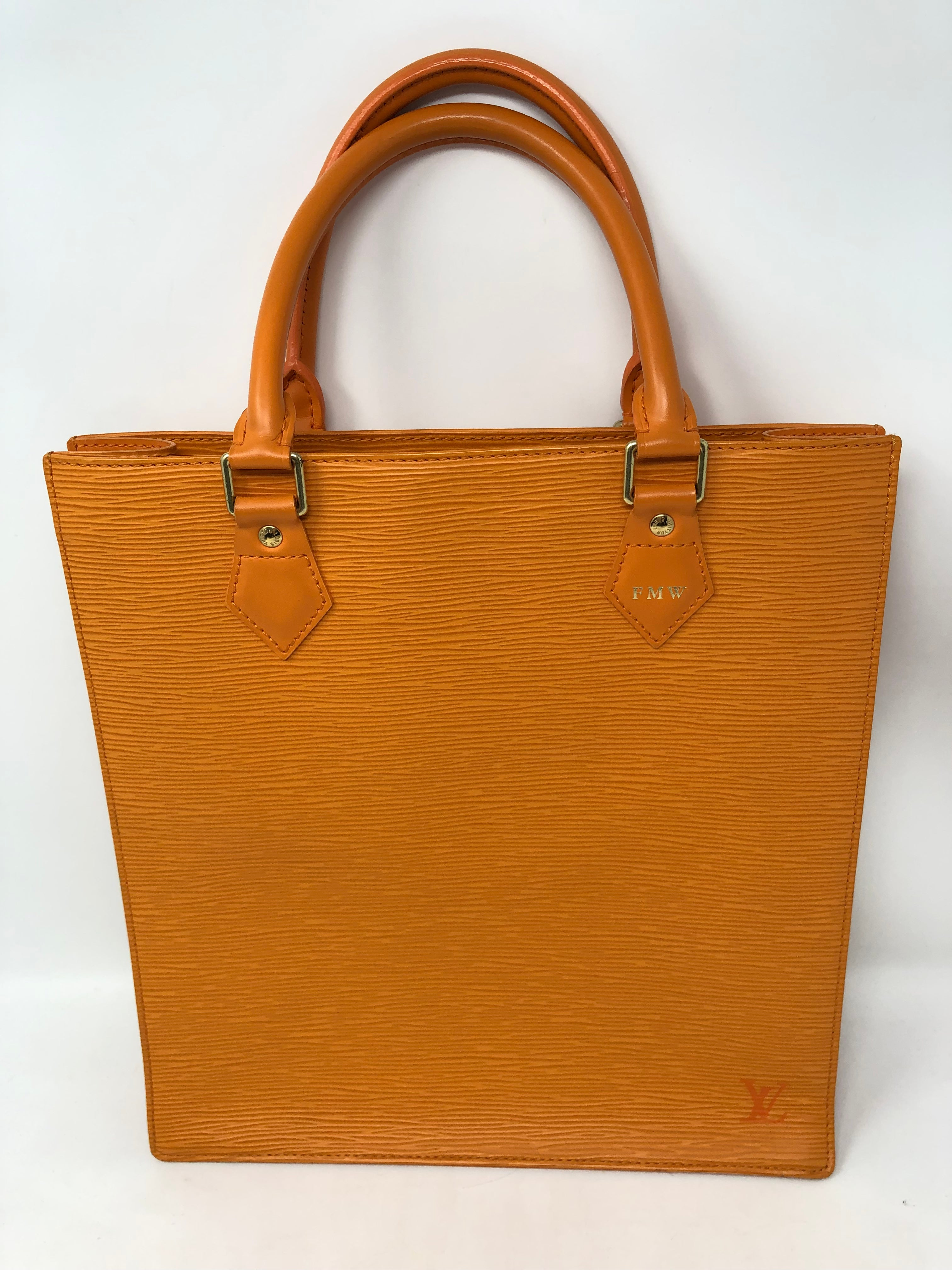 8a16dc4d7f78a Louis Vuitton Sac Plat Epi Orange For Sale at 1stdibs