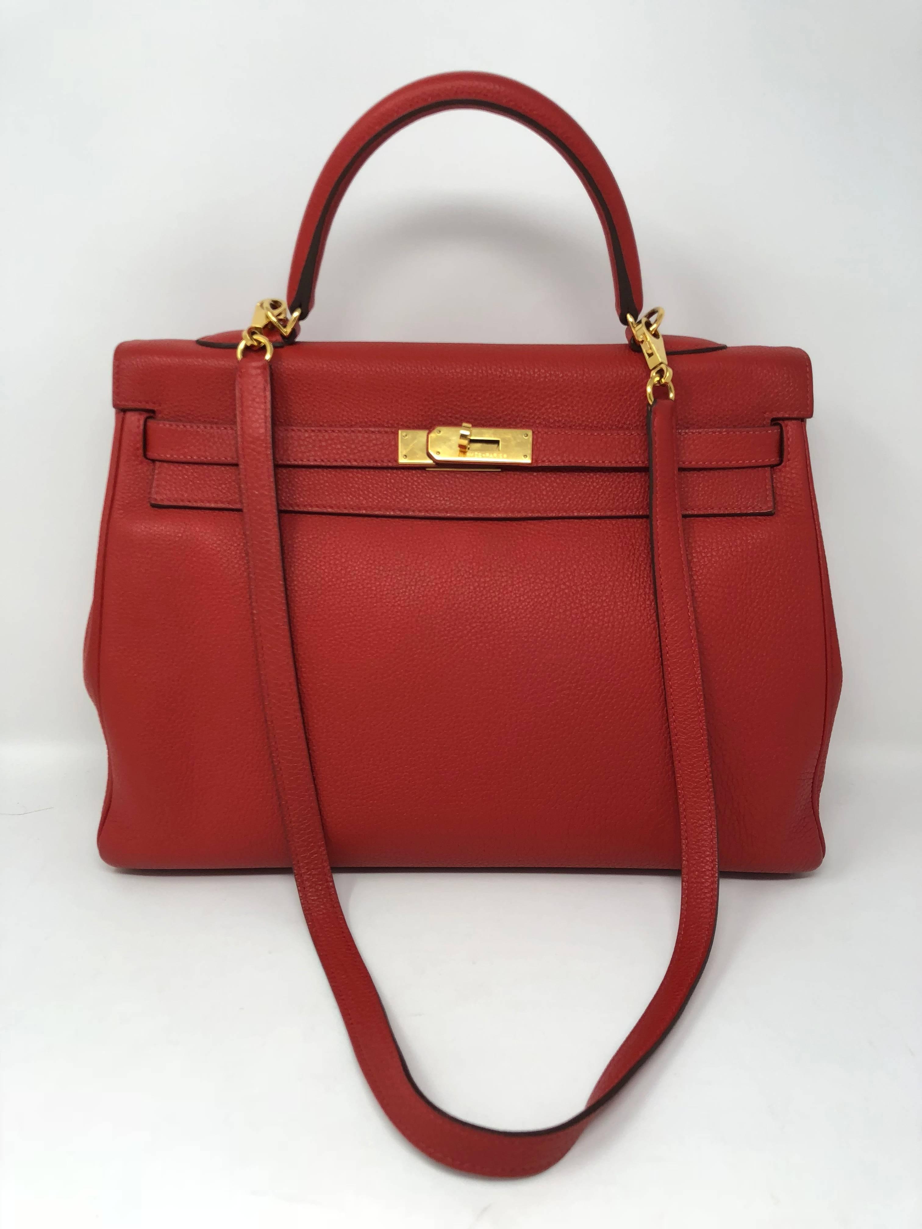 cbe356f4607d ... order hermes geranium red kelly 35 for sale 4 01a8d 8cd1e