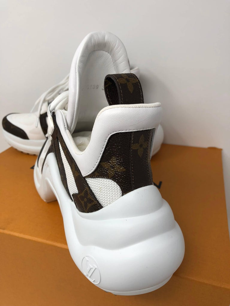Louis Vuitton Cloth Trainers For Sale 2