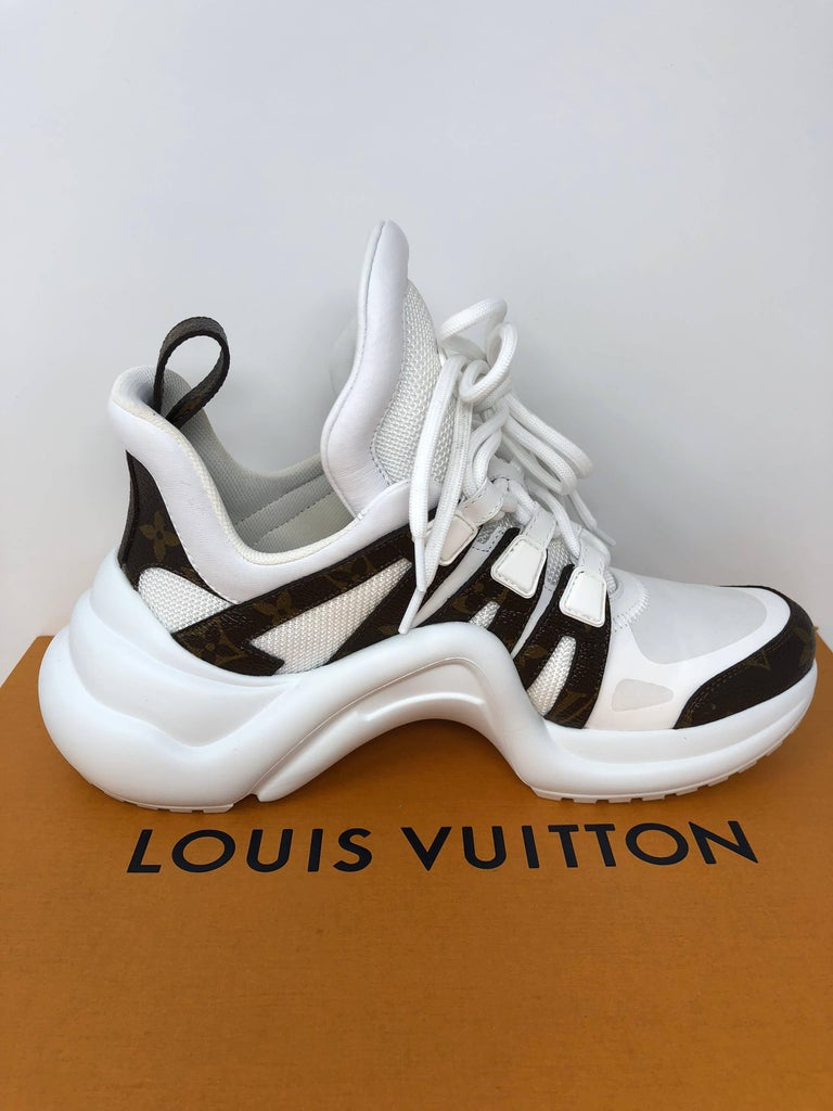 Louis Vuitton Cloth Trainers For Sale 5