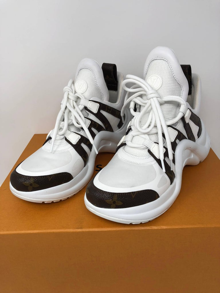 Louis Vuitton Cloth Trainers In New Condition For Sale In Athens, GA
