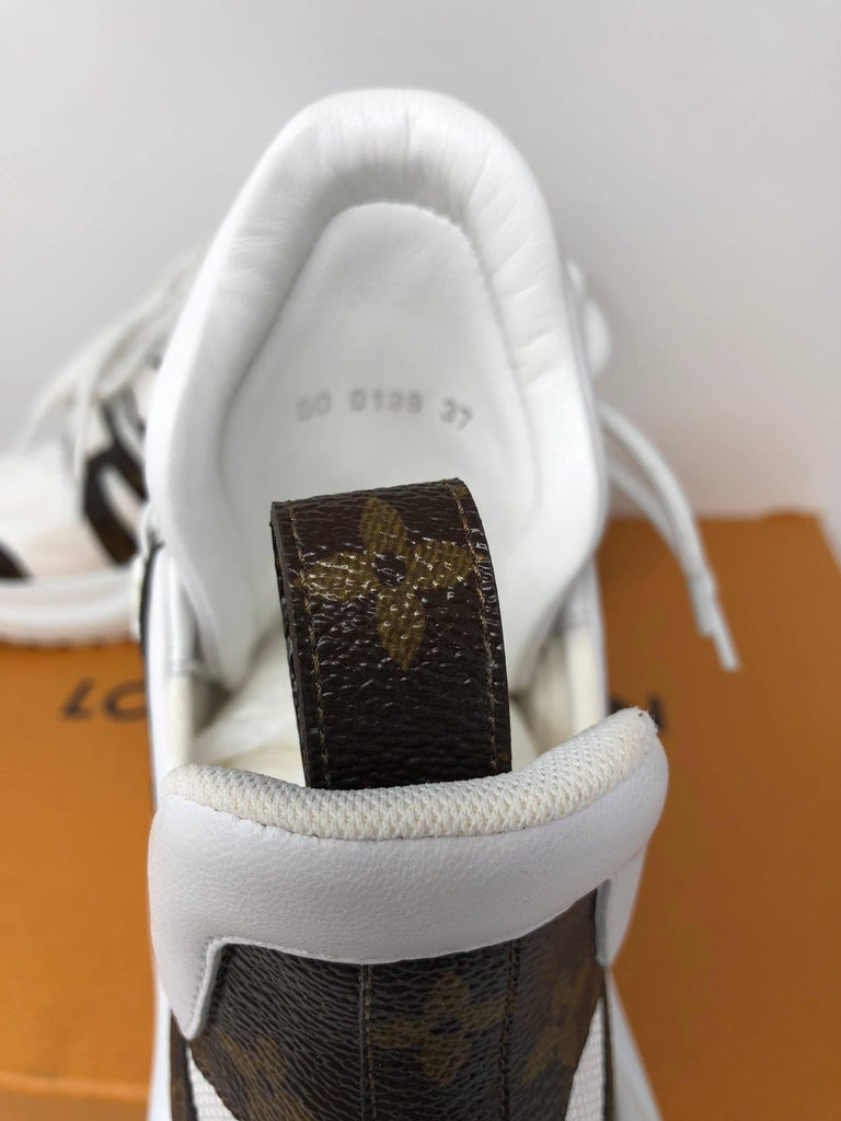 Louis Vuitton Cloth Trainers For Sale 3
