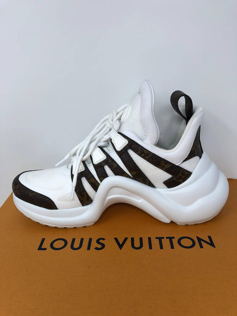 Louis Vuitton Cloth Trainers For Sale 6