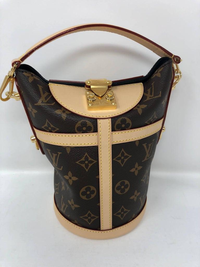 4d16a71986cd Louis Vuitton Duffle Bag Petite Boite Chapeau Petit Noe Trunk from 2018  Runway Collection. Brand