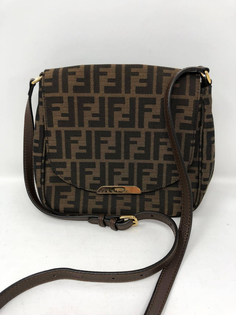 70597492b0 Fendi Zucca Crossbody Bag at 1stdibs