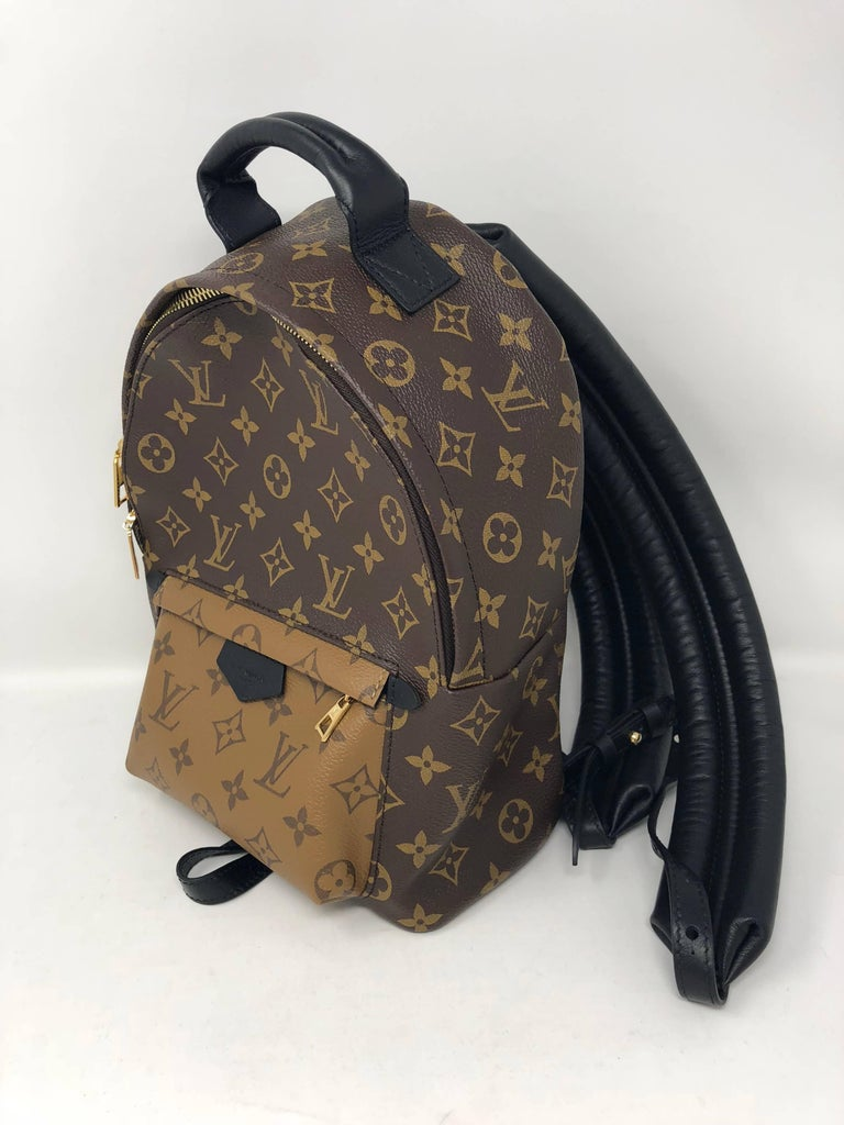 Women's or Men's Louis Vuitton Reverse Palm Springs Backpack PM For Sale