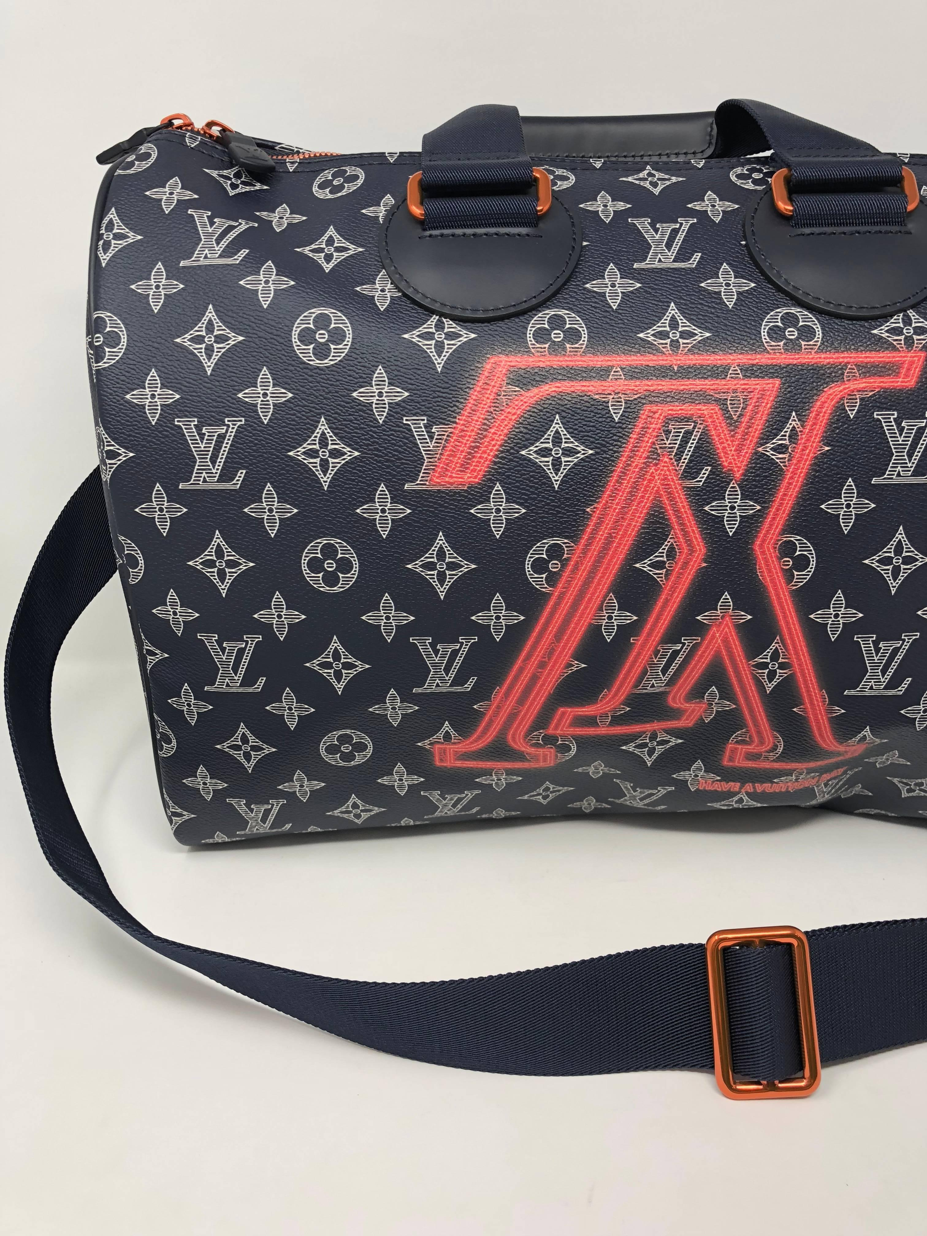 92213e38f5cb Louis Vuitton Speedy 40 Upside Down Bandouliere at 1stdibs