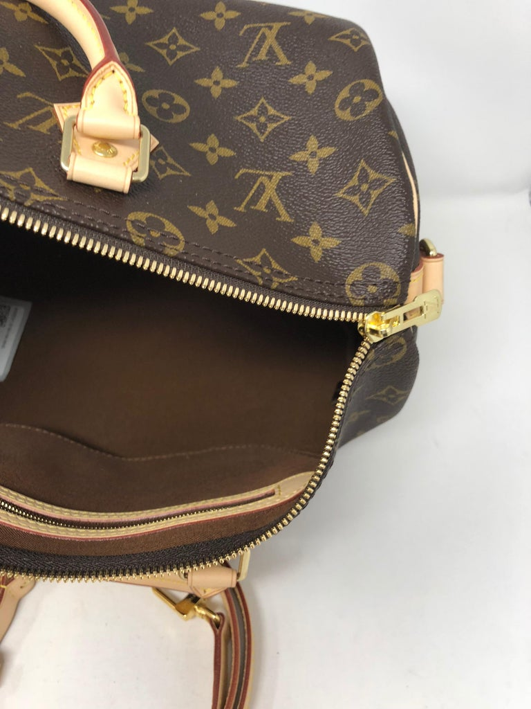 04472e617a02 Black Louis Vuitton Speedy 35 Bandouliere For Sale