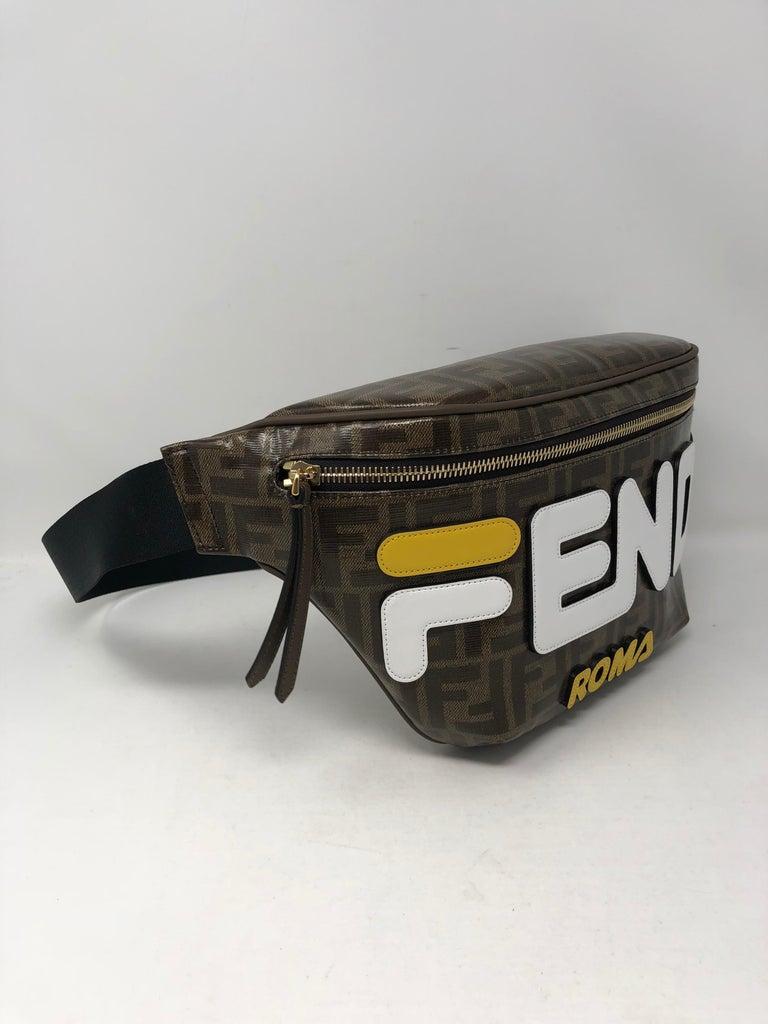 f4110fdeb095 Fendi X Fila Logomania Bumbag In New Condition For Sale In Athens