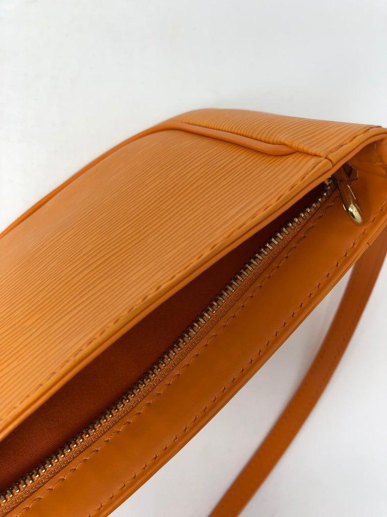 471e7f7a Louis Vuitton Orange Epi Crossbody bag