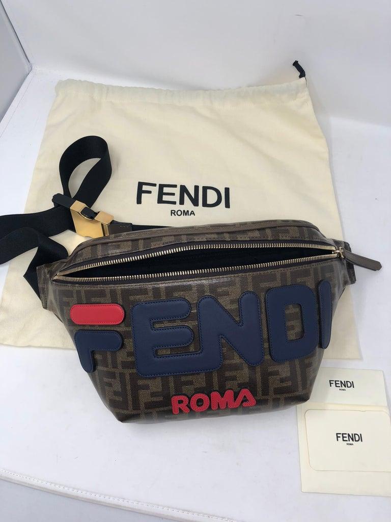 e373664e6459 Fendi X Fila Logomania Bumbag For Sale 12