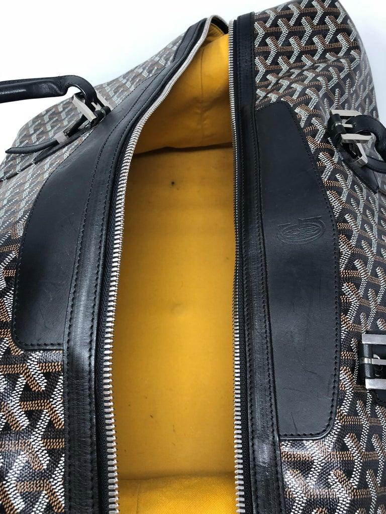 Goyard 55 Duffel Bag  For Sale 6