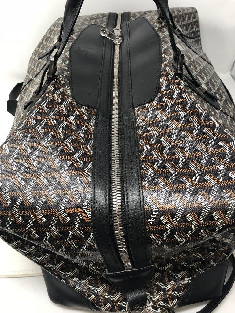 Goyard 55 Duffel Bag  For Sale 4