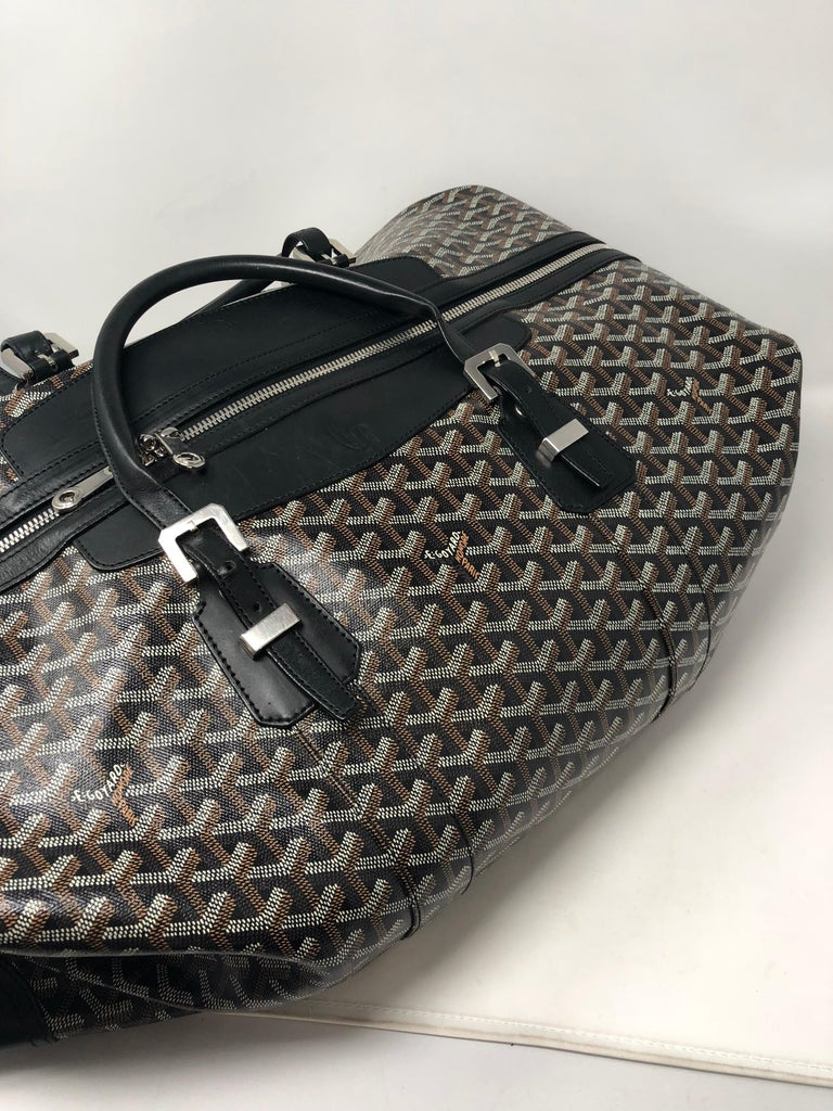 Goyard 55 Duffel Bag  For Sale 3
