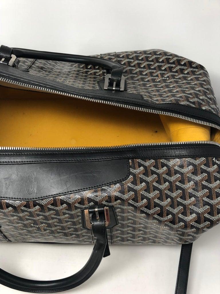 Goyard 55 Duffel Bag  For Sale 9