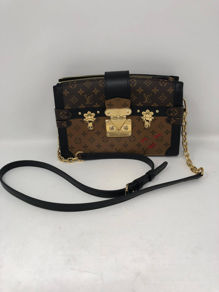 Louis Vuitton Trunk Clutch Reverse Bag For Sale At 1stdibs
