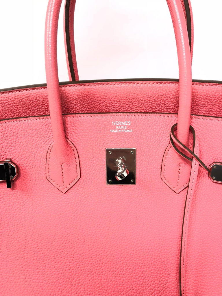 a39fc4e34bf Hermes Birkin 35 Bubblegum Pink For Sale at 1stdibs