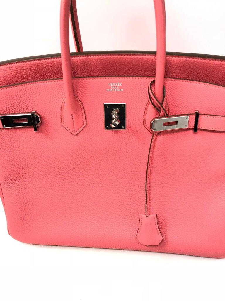 87d61a95430 Hermes Birkin 35 Bubblegum Pink For Sale at 1stdibs