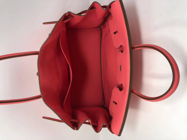 Women's or Men's Hermes Bubblegum Pink Birkin 35 Bag