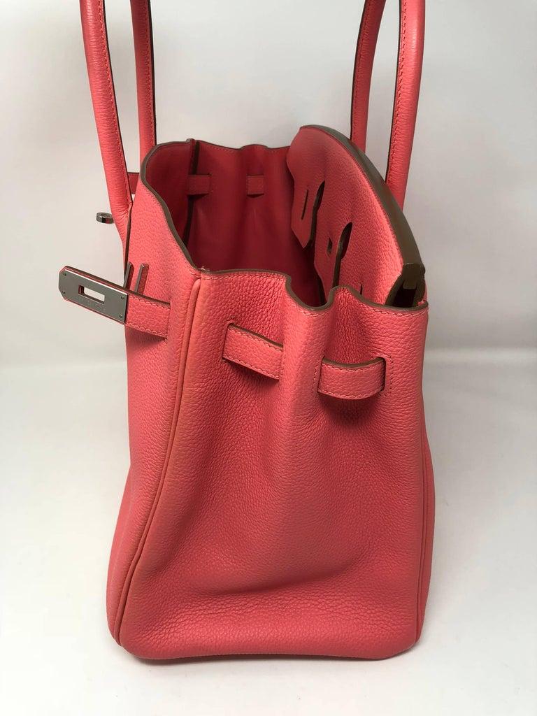 Hermes Bubblegum Pink Birkin 35 Bag 1