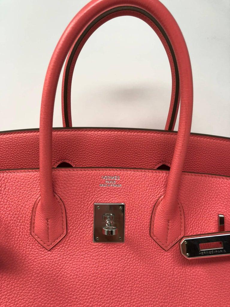 Hermes Bubblegum Pink Birkin 35 Bag 2