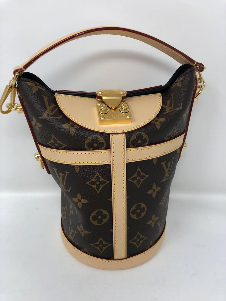 4a725b291d89 Louis Vuitton Duffle Bag Petite Boite Chapeau Petit Noe Trunk from 2018  Runway Collection. Brand
