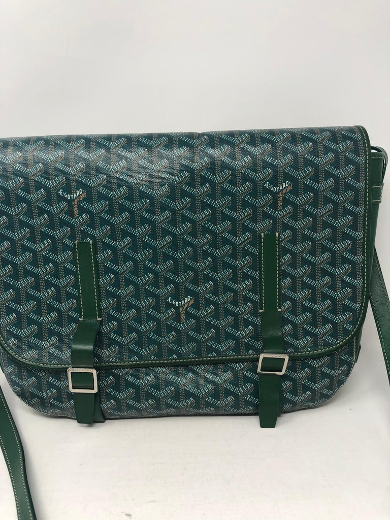 Goyard Green Crossbody Bag At 1stdibs