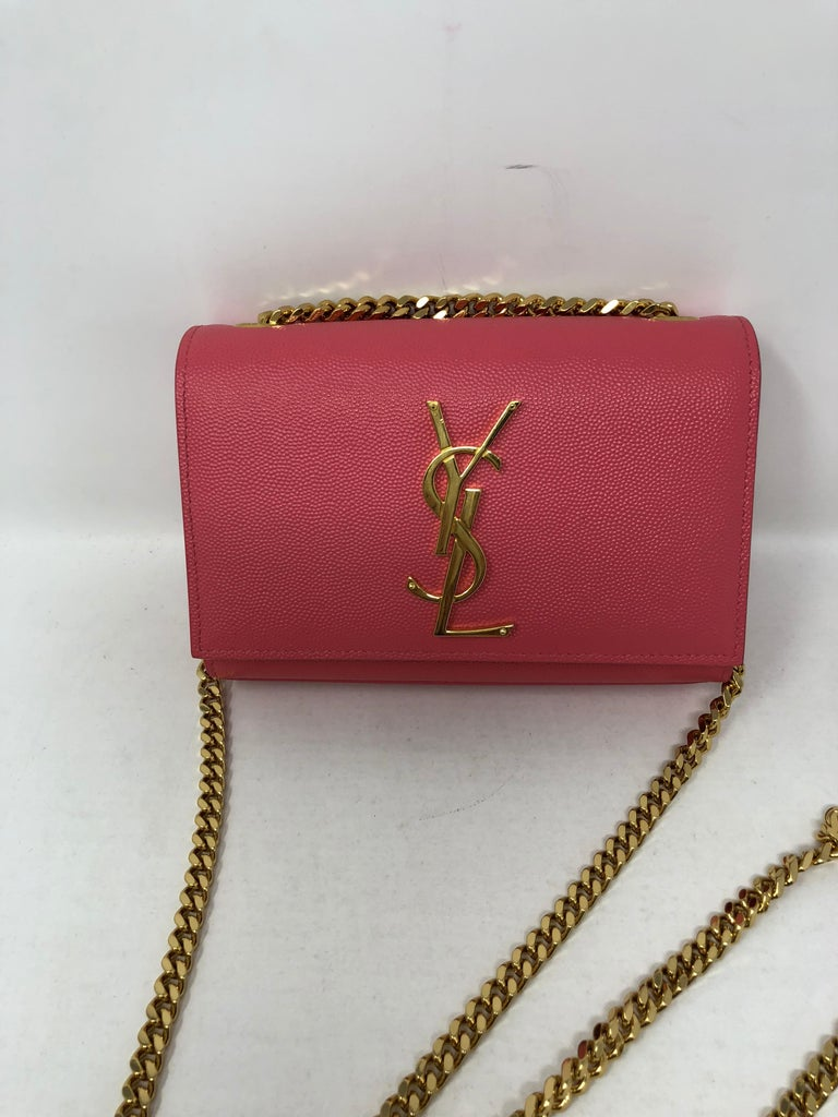 Ysl Mini Pink Crossbody For Sale At 1stdibs