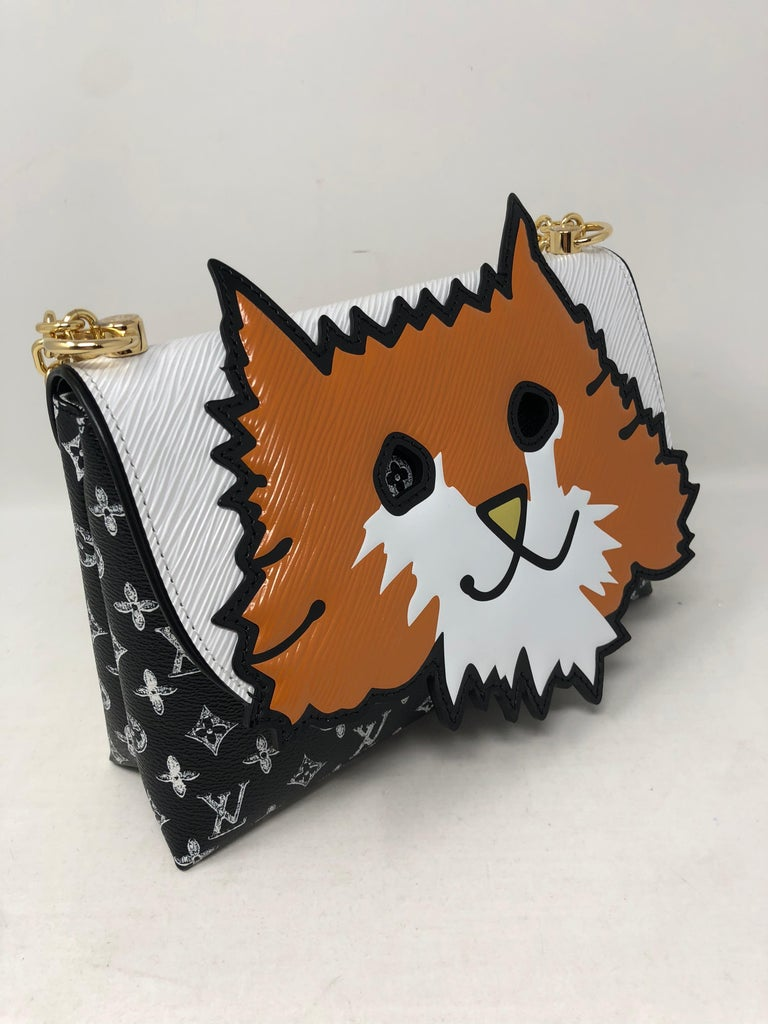 Louis Vuitton Orange Cat Chain Clutch 2019 For Sale At 1stdibs